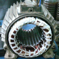 Rewind and repair of the electric motor of 3 Kw