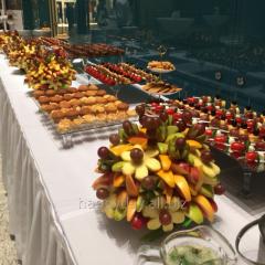 Buffet receptions in Astana