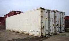Rent of containers of refrigerators