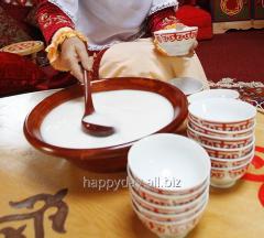 Traditional dish for a Nauryz