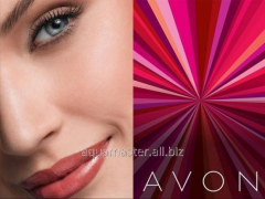 To become the representative of Avon