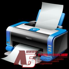 Печать плана эвакуации с файла Заказчика, размер