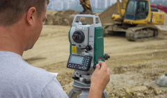 Geodetic services: shooting of engineering