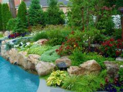 Turnkey landscaping