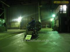 Concrete coupler: Parkings, warehouses, garages,