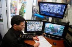 Мониторинг охраняемых объектов с пульта
