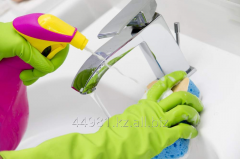 Disinfection of sanitary rooms