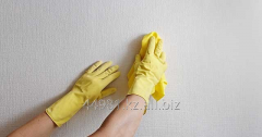 Cleaning of walls