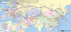 Rail transportation in Kazakhstan