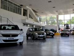 Branding of the car
