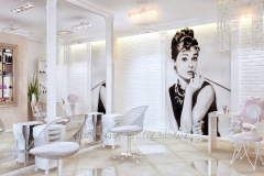 Design of beauty shop