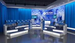 Design of television station
