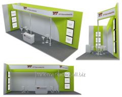 Design of stands exhibition