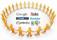 Search optimization of the websites