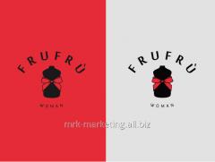 Creation of names, slogans, logos, packagings
