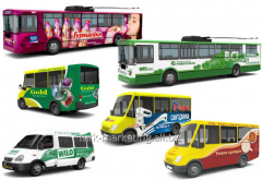 Service of branding of transpor