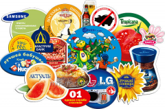 Services of design of a label, packing, sticker
