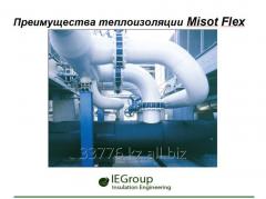 Преимущества теплоизоляции Misot Flex