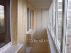 Improvement of balconies and turnkey loggias
