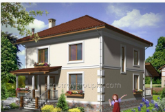 Производство и строительство дома 156 м2