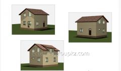Строительство дома 83.2 м2