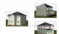 Строительство дома 204.6 м2