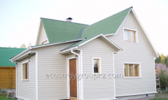 Filing of eaves of a roof, siding installation,