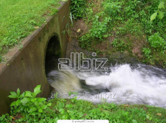 Neutralization of production sewage in the