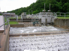 Reception and sewage treatment in the Tamerlan