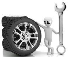 Services of tire shop