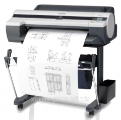 Listing, the printing of drawings of A3, A2, A1,