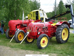 Service and repair of tractors of Alibekmol