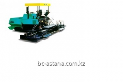 Rent of road equipment. Asphalt spreader of Vogele