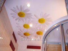 Подвесные потолки с изображениями