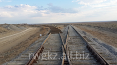 Reconstruction of railroad switches and station