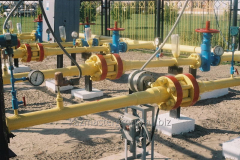 Test of an automation equipment of gas systems