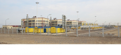 Mounting of automated management of gas supply