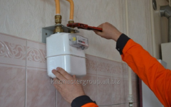 State checking of a gas meter