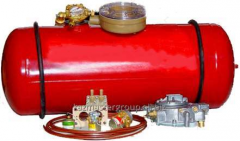 Installation of the gas equipmen