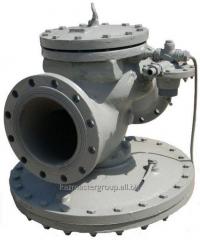 Installation of regulators of pressure of gas