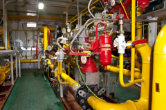 Repair of gas pipelines, gas-distributing stations