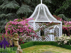 Сад в романтическом стиле