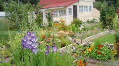 Сад в русском стиле