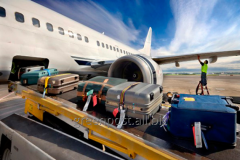 The international delivery of baggage by the air