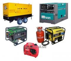 Repair of Diesel and Petrol generators