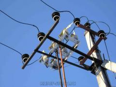 Electric installation work, installation of TP,