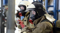Initial training of firefighters on rescuers