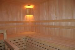 Repair and reconstruction of saunas and baths.