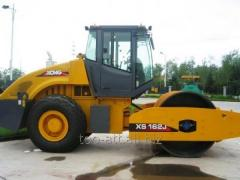 Rental of road rollers