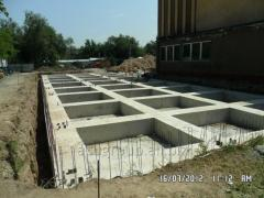 Concrete filling
